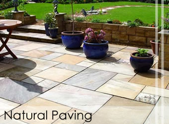Natural Paving and Patio